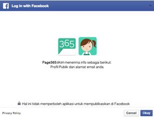 Faceebook Autentification_Step 1